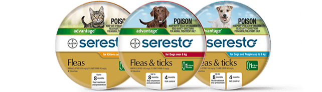Seresto® collar for cats & dogs