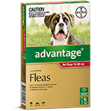 Advantage for Dogs 10-25 kg