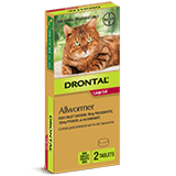 Drontal Allwormer Ellipsoid Tablet for Cats over 4 kg
